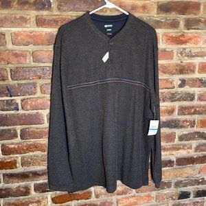 NWT Haggar Double Layer Long Sleeve Shirt Size XL